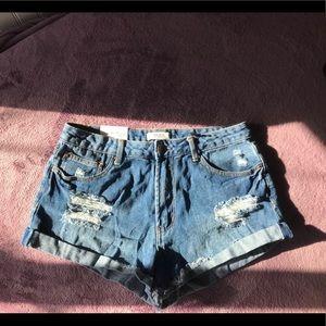"""Forever 21 """"festival"""" Jean shorts"""